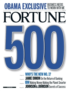 fortune 100 largest american companies 2009